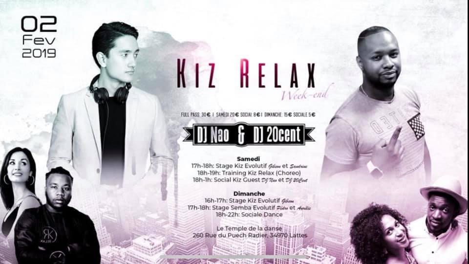 We02/03Fev – Kiz Relax