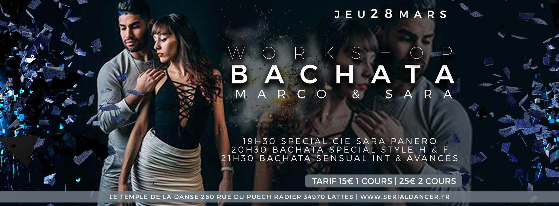 Jeu28mars – Stage Bachata – Marco & Sara
