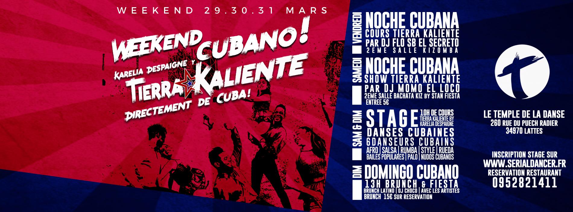 WE29.31MARS – WeekEnd Cubano