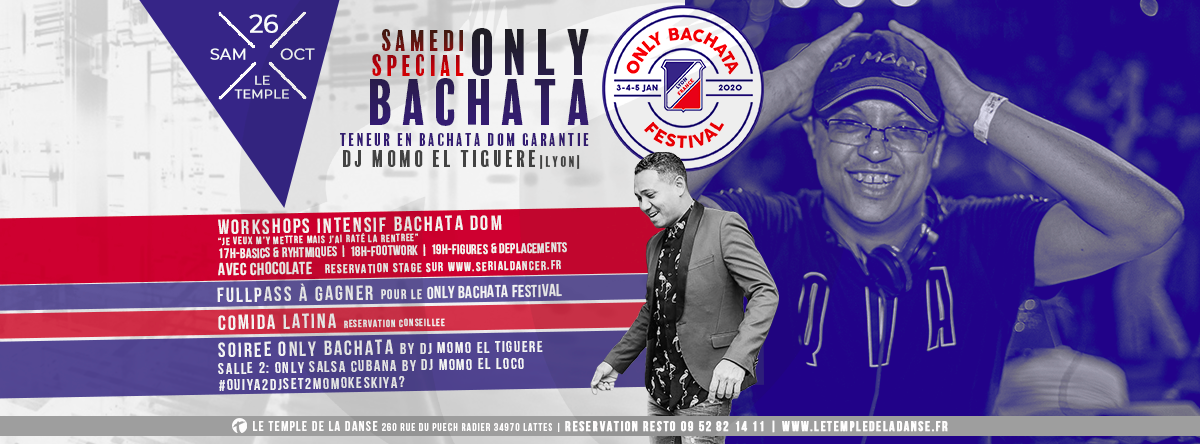 Workshops Bachata Dom – SAM26OCT
