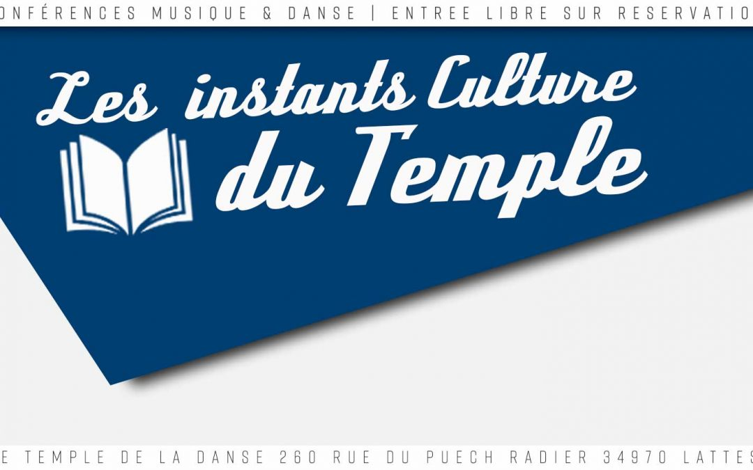 Les Instants Culture du Temple