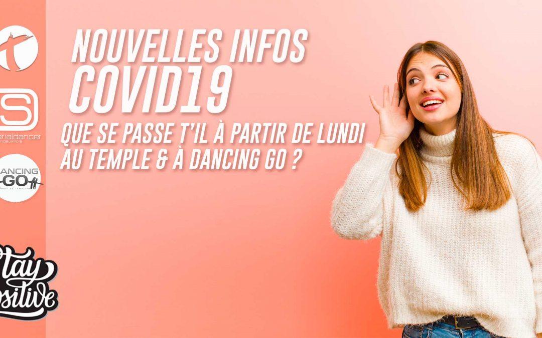Infos Covid 28/09/2020