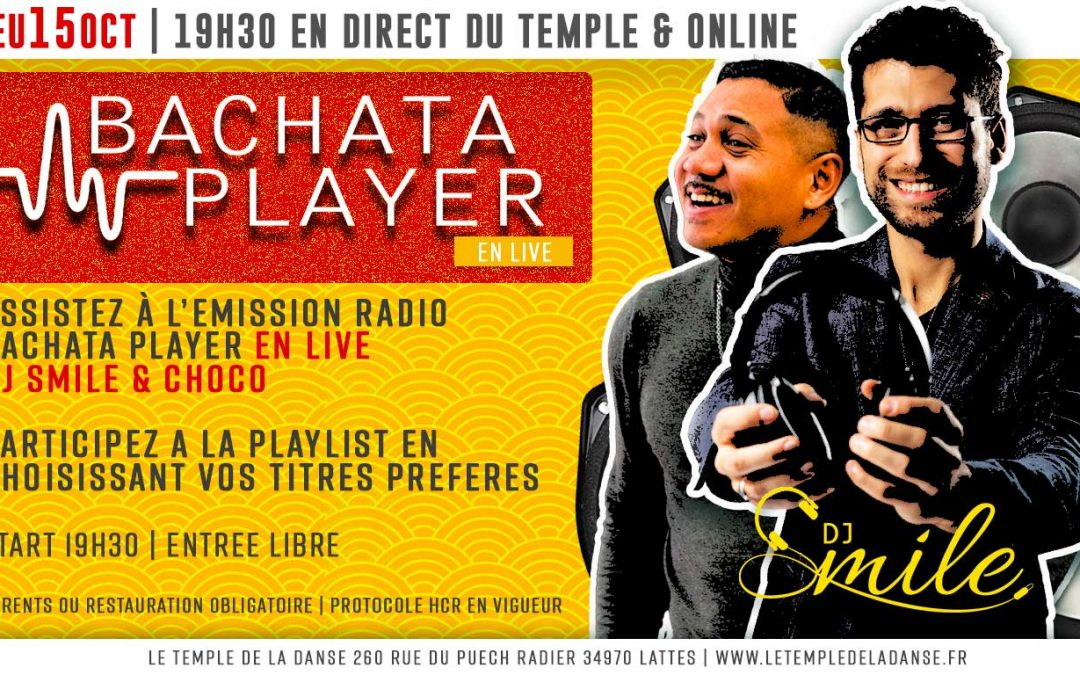 Bachata Player en live au Temple